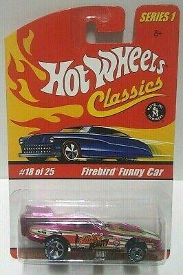 2004 Hot Wheels Classics Series 1 Firebird Funny Car Pink