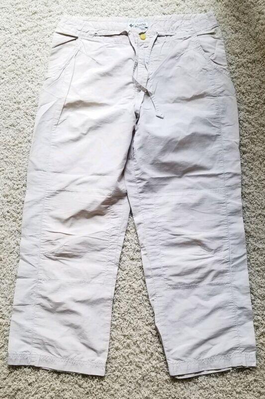 Columbia Hiking Fishing Outdoor Travel Cropped Pants Women