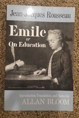 Pre-Owned: Emile: Or On Education by Jean-Jacques Rousseau