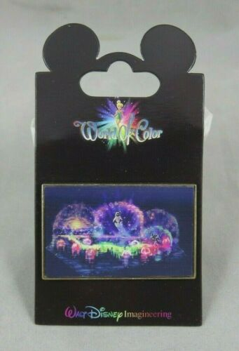 Disney WDI Pin - World of Color Lenticular - Wall-E and Eve