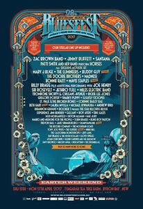 "Bluesfest 5 Day ""Buddy Pack"" inc. Festival & Camping Coorparoo Brisbane South East Preview"