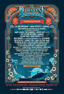 Bluesfest 2017 5 day Passes 2 tickets Mudgeeraba Gold Coast South Preview