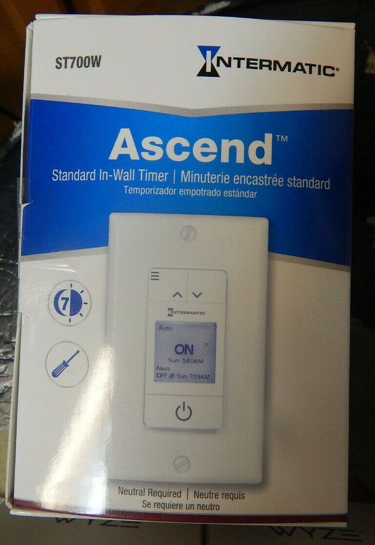 Intermatic Ascend Standard 15A 7Day Indoor Programmable In-W