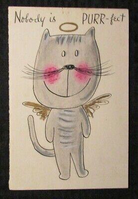 22x34-17787 PURR CAT POSTER RACHEL CALDWELL