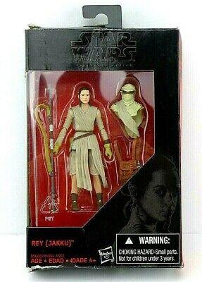 Star Wars The Force Awakens The Black Series REY (JAKKU)  3.75in.