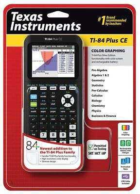Texas Instruments Ti-84 Plus Ce Graphing Calculator Black