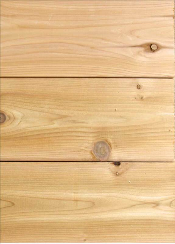 2x8 Western Cedar Decking - WE SHIP FREE SAMPLES