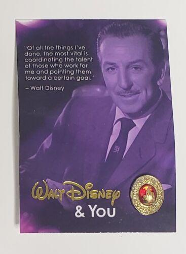 Disney University Walt & You Cast Member Ruby Cinderella Castle Service Pin