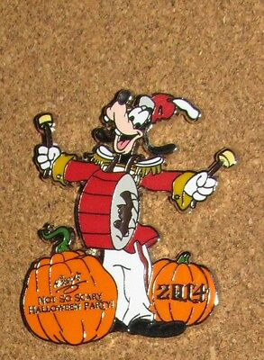 A9 DISNEY PIN NOT SO SCARY HALLOWEEN PARTY 2014 MYSTERY PINS GOOFY LR LAST - A Not So Scary Halloween Disney