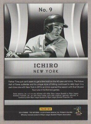ICHIRO 2014 Panini PROMO National Sports Convention VIP 9 Yankees NSCC Suzuki - $2.25