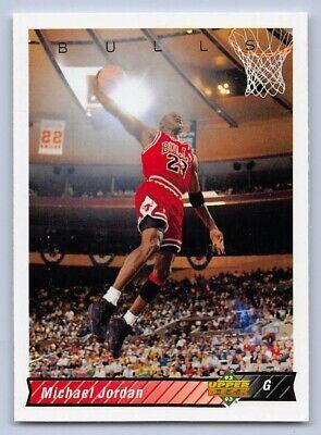 1992-93  MICHAEL JORDAN - Upper Deck Basketball Card # 23 CHICAGO BULLS GOAT
