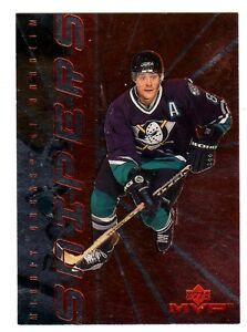 1X-TEEMU-SELANNE-1998-99-Upper-Deck-MVP-S4-SNIPERS-Insert-Ducks