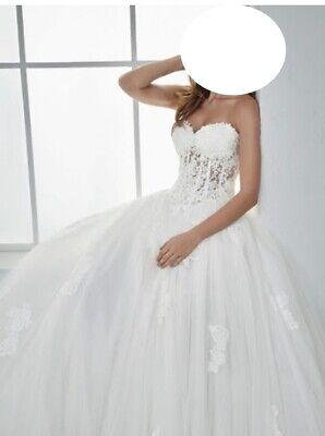 WHITE ONE BY PRONOVIAS WEDDING DRESS FESTATg42