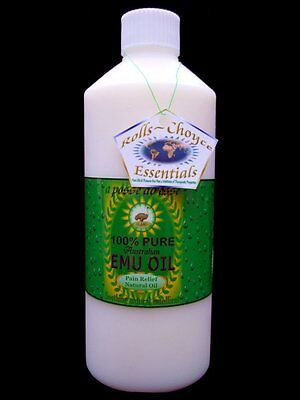 100% Pure Australian Emu Oil *500ml* Unsurpassed in Freshness & Quality