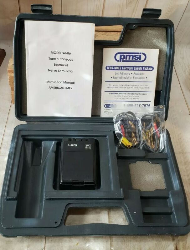 A-TENS American Imex Therapy Equipment 9V Unit with Case AI-86