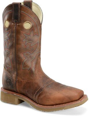 Double H Men's D DH6134 Rust Leather Composite Toe Work Boots Size 10 Freeship