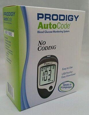 PRODIGY AutoCode Blood Glucose Meter No Coding 4 Languages  NDC# 08484-0518-85