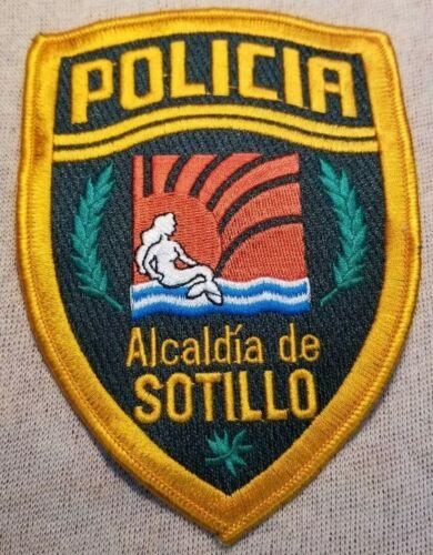 Alcaldia de Sotillo Venezuela Police Patch