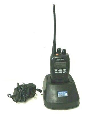 Kenwood Nx-300-k Uhf Two Way Radio W Battery Charger Antenna 450-520 Mhz