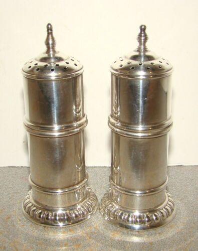 Lunt Sterling #1100 Salt & Pepper Shakers