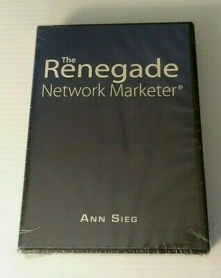 Ann Sieg The Renegade Network Marketer 6 CD Set New Sealed