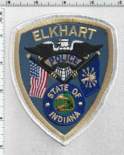 Elkhart Police (Indiana) 3rd Issue Shoulder Patch