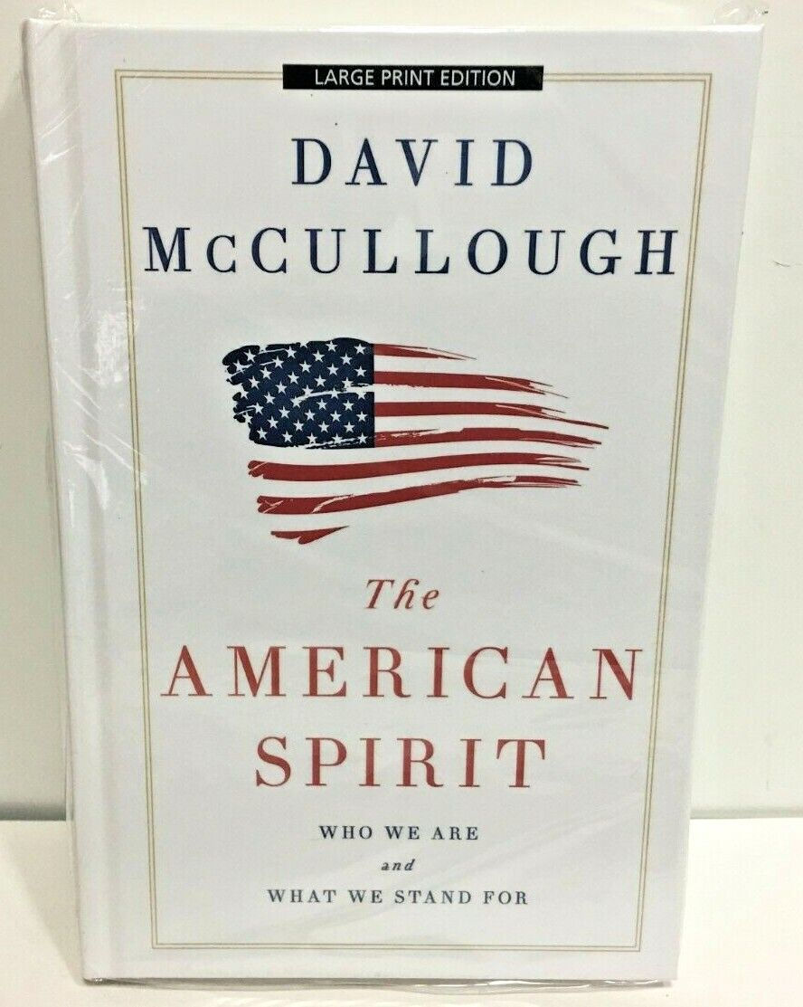 The American Spirit Who We Are and What We Stand For Large P