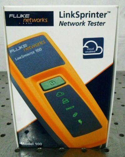 LR Fluke Networks LinkSprinter 100 Network Tester 4401131