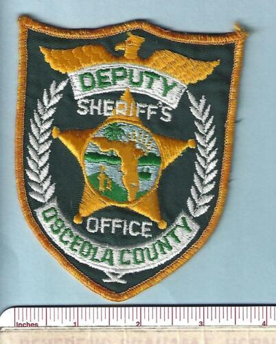 Osceola County FL State Florida Fla Sheriff Office Deputy Police Shoulder Patch