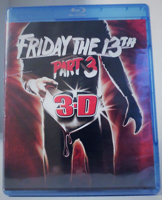 Friday the 13th III | 3D Blu-ray + Brillen | ENGLISCH | Freitag der 13. Teil 3