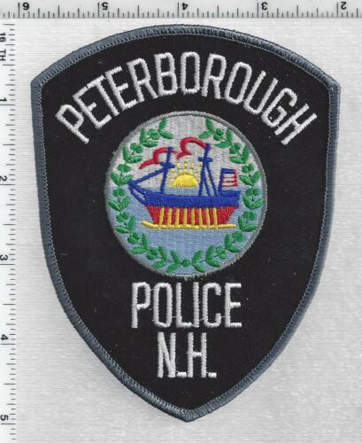 Peterborough Police (New Hampshire) 3rd Issue Shoulder Patch