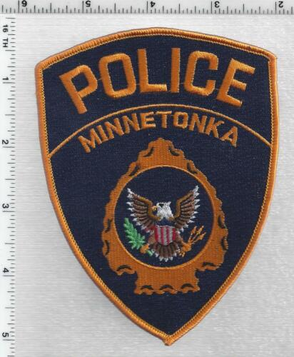 Minnetonka Police (Minnesota) 4th Issue Shoulder Patch