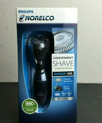 Philips Norelco Washable Cordless Power Shaver 1200 AT620/81 New In Box