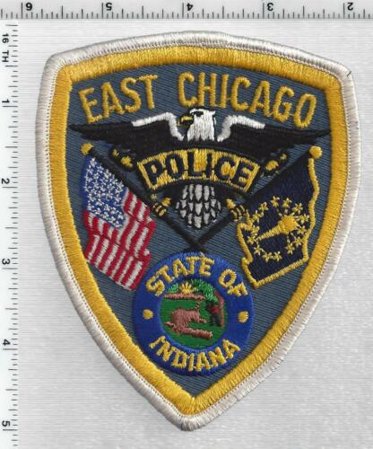 East Chicago Police (Indiana) 2nd Issue Shoulder Patch