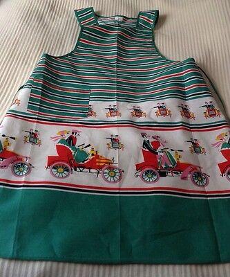 VTG 40/50/60's PINNY APRON WOMEN'S INSTITUTE TEA ROOMS WW11 FANCY DRESS Small