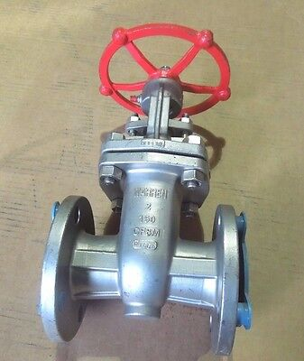 Gate Valve 2 150 Rf Flanged Warren 1156 316 Stainless Steel Graphite Pkg 270wh