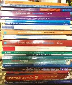 Year 11 and 12 Textbooks for Sale (Free Express Post Delivery) Girrawheen Wanneroo Area Preview