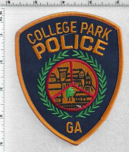 College Park Police (Georgia) 4th Issue Shoulder Patch