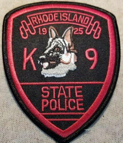 RI Rhode Island State Police K-9 Patch