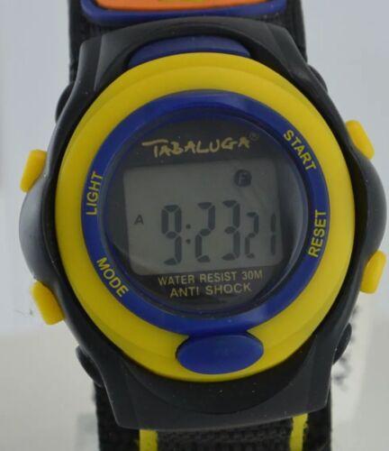 Tabaluga Kinderuhr - Anti Shock / Quarz / Armband mit Klettverschluss
