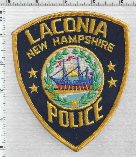 Laconia Police (New Hampshire) 1st Issue Shoulder Patch
