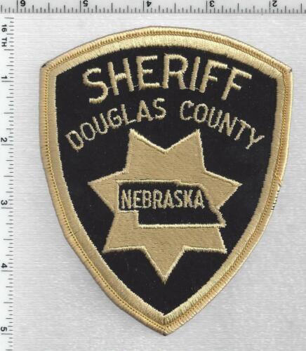 Douglas County Sheriff (Nebraska) 3rd Issue Shoulder Patch