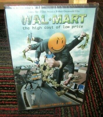 WAL-MART: THE HIGH COST OF LOW PRICE DVD DOCUMENTARY, BEHIND THE GLITZ, WS,