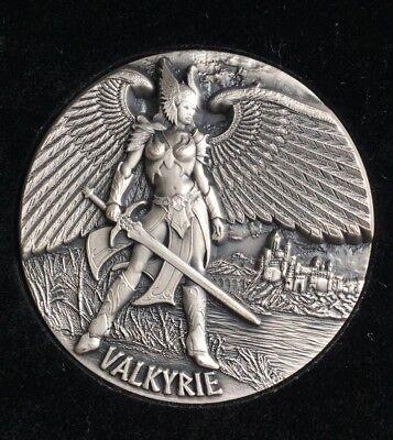 Tokelau 2016 VALKYRIE Legends of Asgard $10 UHR 3 Oz Silver Coin - (COA#006)