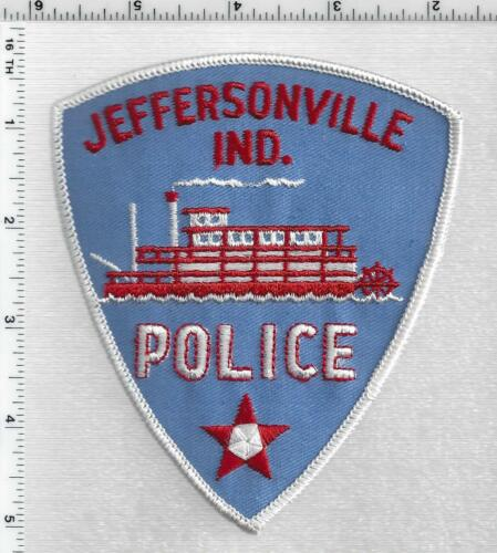 Jeffersonville Police (Indiana) 1st Issue Shoulder Patch