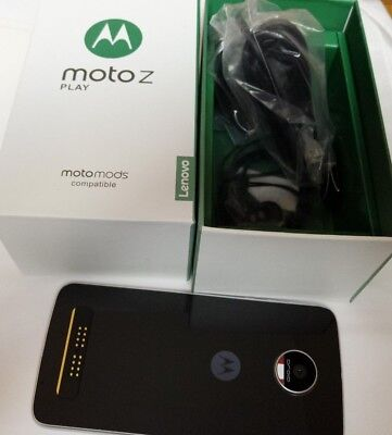 Characterize New in Sealed Box Motorola Moto Z Play Droid XT1635-1 VERIZON Smartphone