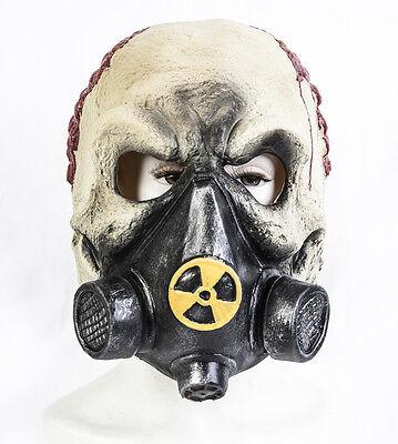 Halloween Gas Maske Schädel Zombie-Maske Maskenkostüm Toxisch Ausbruch Skelett
