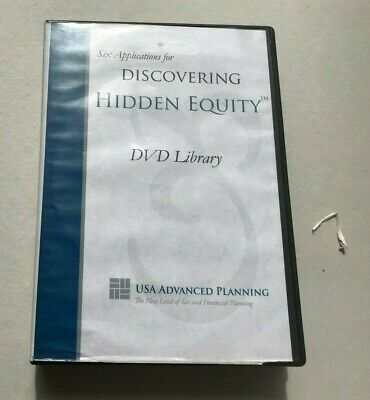 DISCOVERING HIDDEN EQUITY - LIFE INSURANCE SALES AGENT TRAINING COURSE-  8 DVDS!