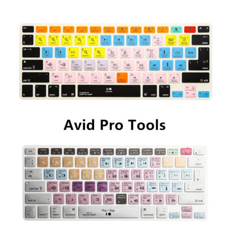 Avid Pro Tools Shortcuts Keyboard Cover Silicone Skin for Macbook Air Pro 13 15