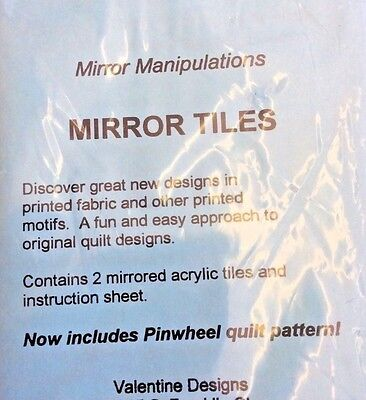 (MIRROR MANIPULATION TILES FOR QUILTERS BY VALENTINE DESIGN)